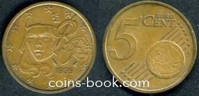 5 евроцентов 1999