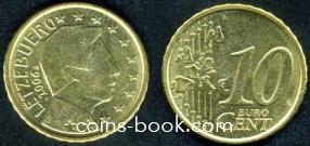 10 евроцентов 2006