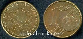 1 евроцент 2000