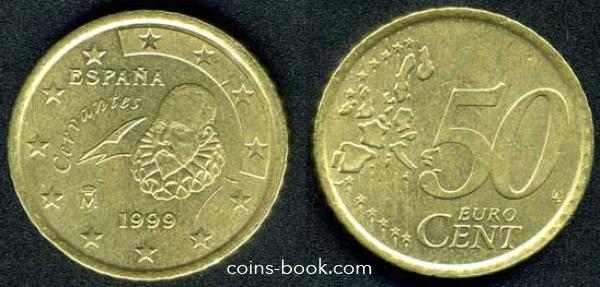 50 евроцентов 1999