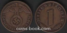 1 рейхспфенниг 1938