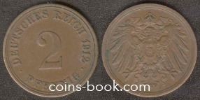 2 pfennig 1912