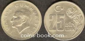 25 000 лир 1995