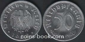 50 рейхспфеннигов 1935