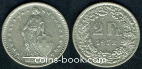 2 франка 1972
