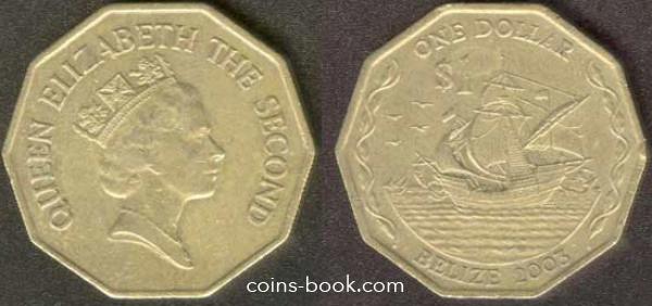 1 доллар 2003