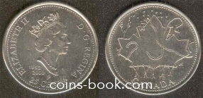 25 cents 2002