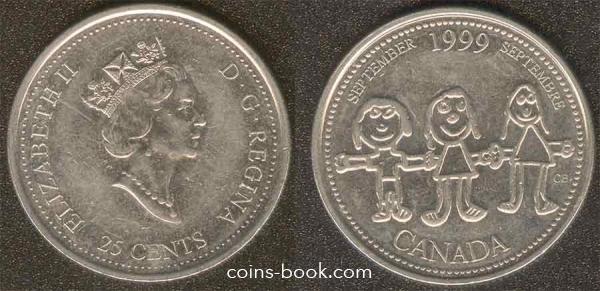 25 центов 1999