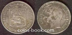 1/4 боливар 1946