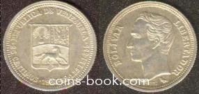 25 céntimos 1960