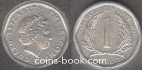 1 цент 2002
