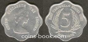 5 центов 1989