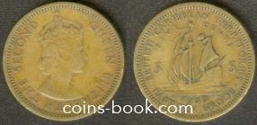 5 центов 1955