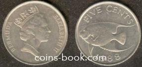 5 центов 1988