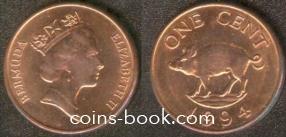 1 цент 1994