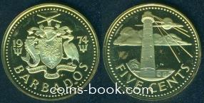 5 центов 1974