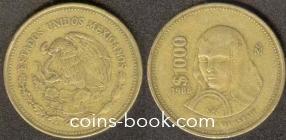 1 000 песо 1988