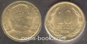 10 песо 2004