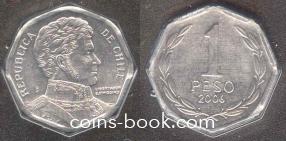1 песо 2006