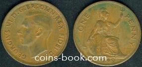 1 пенни 1949