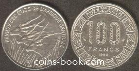 100 франков 1998
