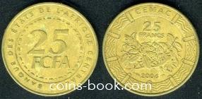 25 франков 2006