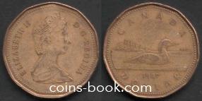 1 доллар 1987