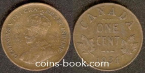 1 цент 1934