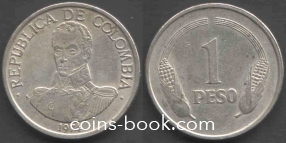1 песо 1974