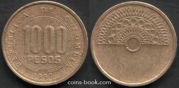 1000 песо 1997