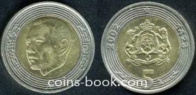 5 дирхамов 2002