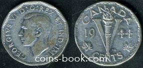 5 центов 1944
