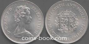 25 новых пенсов 1972