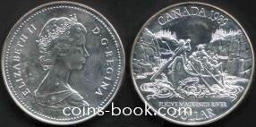 1 доллар 1989
