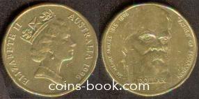 1 dollar 1996