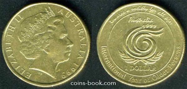 1 доллар 1999