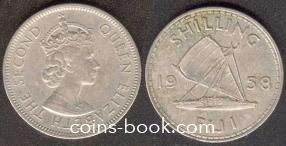 1 шиллинг 1958
