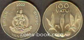 100 vatu 2002