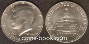1/2 доллара 1976