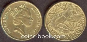 1 доллар 1988
