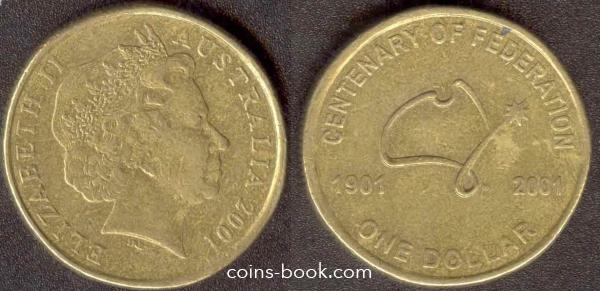 1 доллар 2001