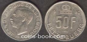 50 франков 1990