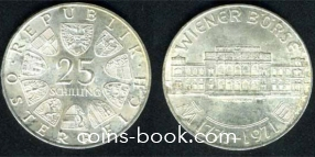 25 шиллингов 1971