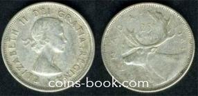 25 центов 1961