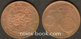 5 eurocents 2003