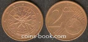 2 евроцента 2004