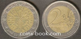 2 евро 2001