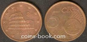 5 евроцентов 2005