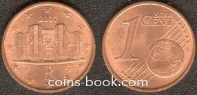 1 евроцент 2007
