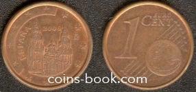 1 евроцент 2006